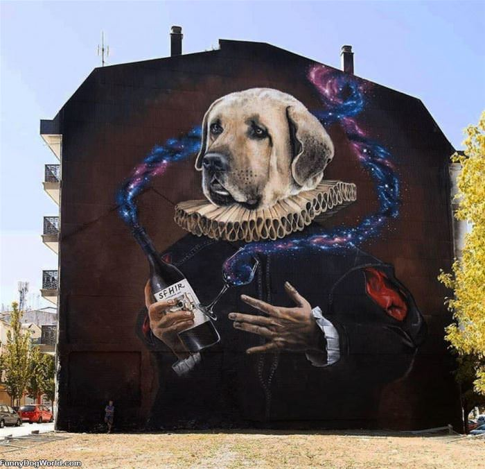 A Dog Mural